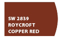 Roycroft Copper Red